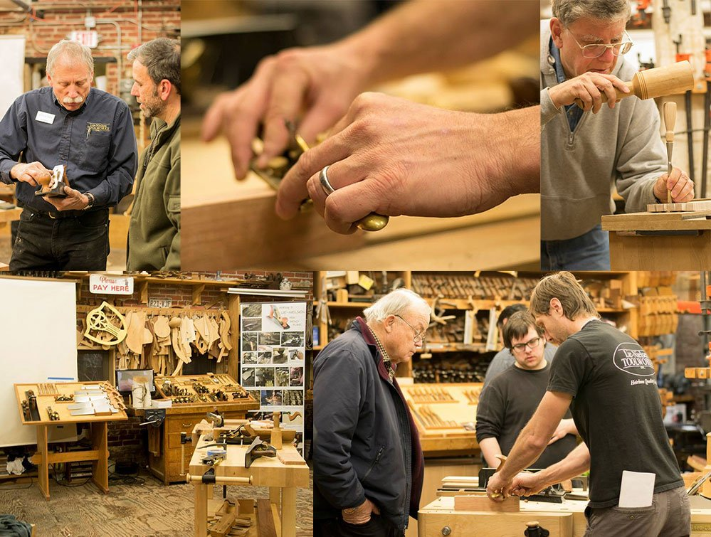 Lie Nielsen's Tool Workshops
