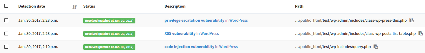 Content Injection Vulnerability | WordPress Security Check