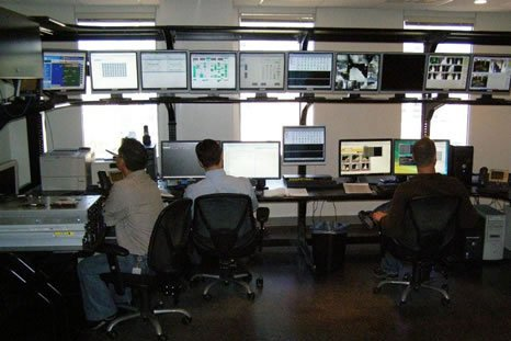 Network Monitoring Room