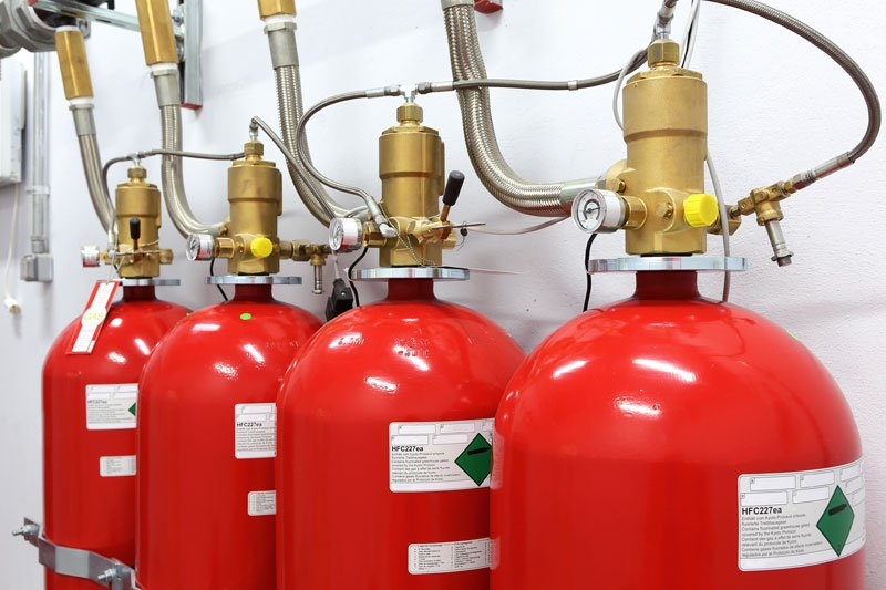 FM200 Inert Gas Fire Suppression System